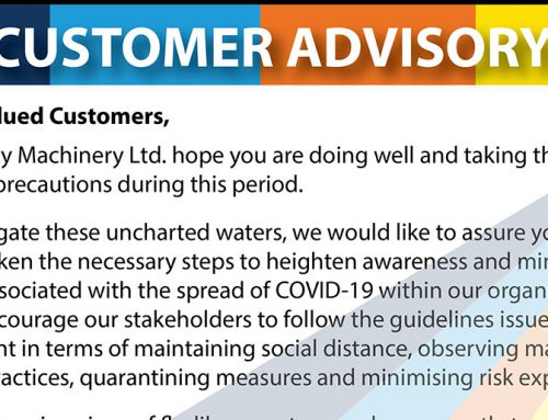 Customer Advisory